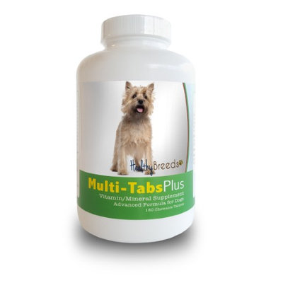 Healthy Breeds 840235139942 Cairn Terrier Multi-Tabs Plus Chewable Tablets - 180 Count