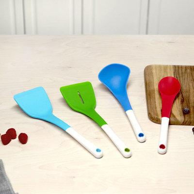 Tasty 4pc Silicone Kitchen Utensil Set