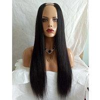 Kerrywigs 8A Grade Brazilian Hair U Part Human Hair Wigs For Black Women Silky Straight Glueless U Shaped Wig Long Upart Wig-14inch
