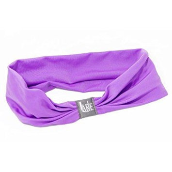serene headband - womens headbands for sport, yoga, fashion & exercise. teen headbands - amazing colors for awesome style material for superior comfort (purple)