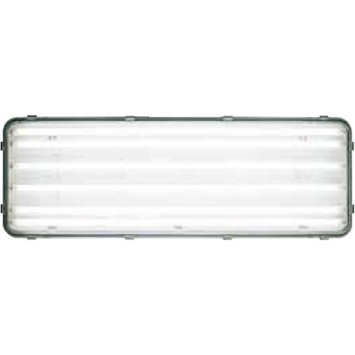 J & D Manufacturing J;D Manufacturing- LEDB-6-24 Rotating T8 LED Lighting, Frosted 4100*K Tubes with Clear Lens,2x 4', 6 LED Tubes, 110-277 Volts, .98 Amps