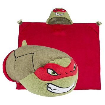 Comfy Critters CCNICK0TMNTRA00000 Nick Mutant Ninja Turtles Raphael Blanket