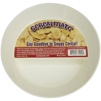 Just Solutions! Always Crunchy Never Soggy Innovative Cereal Bowl