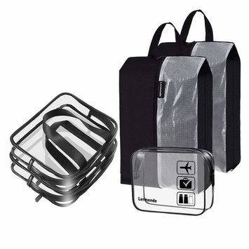 Lermende Toiletry Bag Portable Hanging Large Cosmetic Makeup Travel Accessories Organizer for Men & Women