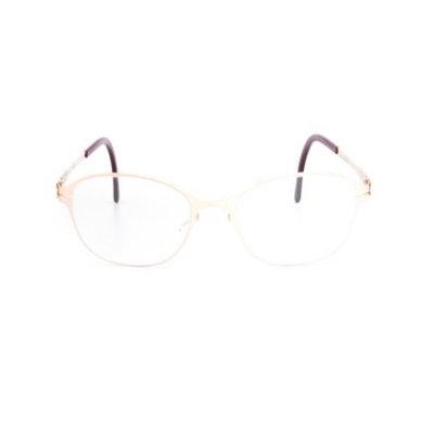 ic! Berlin Innocent Eyeglasses Rose Gold Frame / RX Clear Demo Prescription Lens