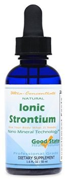 Good State Liquid Ionic Strontium Ultra Concentrate - 10 Drops Equals 30 Mg - 100 Servings Per Bottle