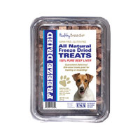 Healthy Breeds 840235147763 10 oz Jack Russell Terrier All Natural Freeze Dried Treats Beef Liver