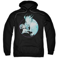 DOCTOR MIRAGE/CIRCLE MIRAGE-ADULT PULL-OVER HOODIE-BLACK-MD
