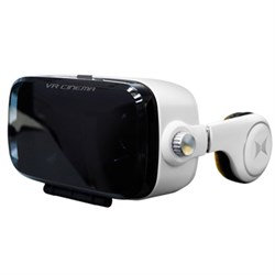 Xtreme Virtual Reality Cinema Viewer with Insulated Audio System
