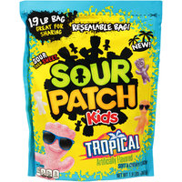 Sour Patch Kids Tropical Soft & Chewy Candy 1.9 lb. Pouch