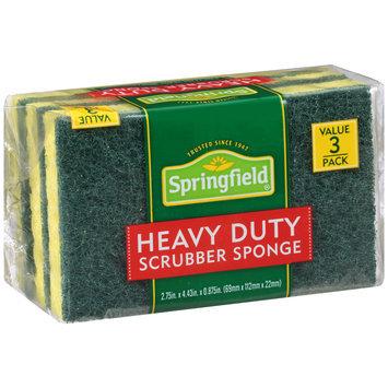 Springfield® Heavy Duty Scrubber Sponge 3 ct Pack
