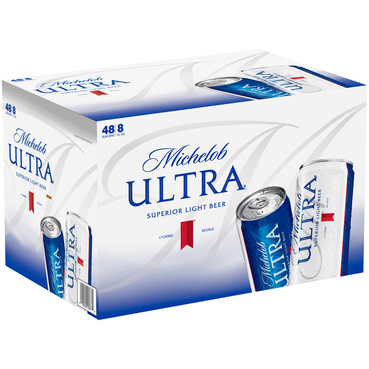 Michelob Ultra® Superior Light Beer 48-8 fl oz. Cans ...  Michelob Ultra�...