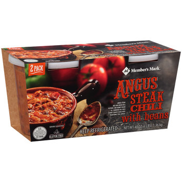 Member's Mark™ Angus Steak Chili with Beans 48 oz. Pack