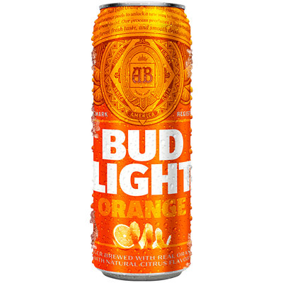 Bud Light® Orange 25 oz. Can