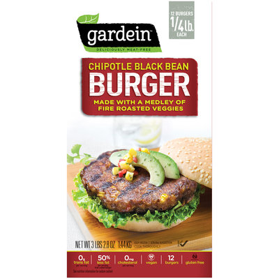 Gardein™ Chipotle Black Bean Burger 12 ct. Pack