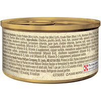 Muse by Purina Infused Adult Grain Free Pate Natural Chicken Recipe Cat Food 3 oz. Can