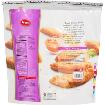 Tyson® Breaded Chicken Breast Tenderloins 80 oz. Bag