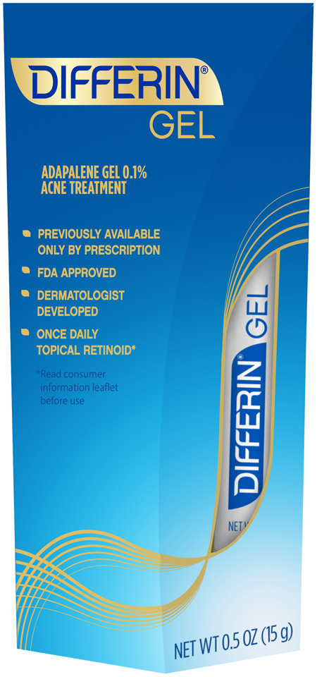 Differin® Gel Acne Treatment 0.5 oz. Box