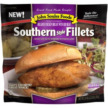 John Soules Foods® Southern Style Fillets 21 oz. Bag