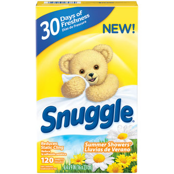 Snuggle® Summer Showers™ Fabric Conditioner Dryer Sheets 120 ct Box