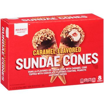 Market Pantry™ Caramel-Flavored Sundae Cones 8-4.3 fl. oz. Packs