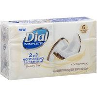 Dial Complete® 2 in 1 Moisturizing & Antibacterial Coconut Milk Beauty Bar