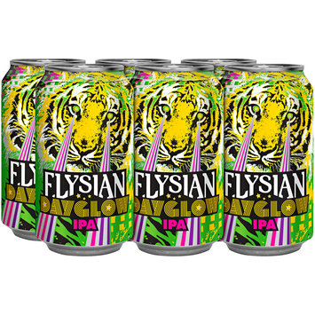 Elysian Dayglow IPA Beer 6-12 fl. oz. Pull-Top Cans