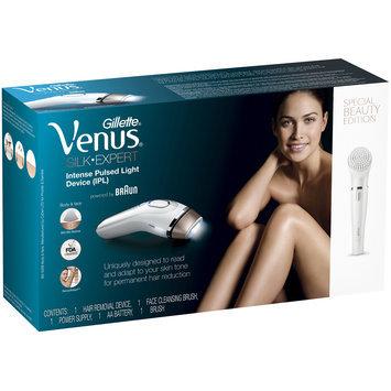 Silk-Expert Gillette Venus Silk-expert IPL (Intense Pulsed Light), powered by Braun - BD 5008 + facial cleansing brush