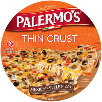 Palermo's® Thin Crust Mexican Style Pizza 15.6 oz. Package