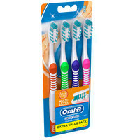 Advantage Oral-B Complete Deep Clean Toothbrush, 4 ct. 40 Soft