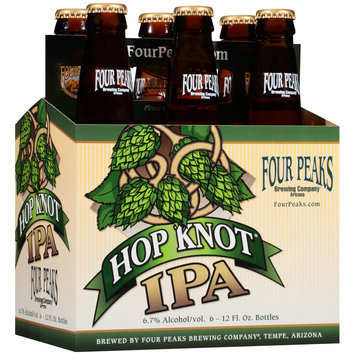 Hop Knot® IPA 6-12 fl. oz. Glass Bottles