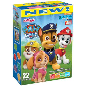 Kellogg's® Paw Patrol™ Assorted Fruit Flavored Snacks 22 ct Box