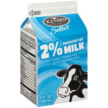 Kemps® Select 2% Reduced Fat Milk 8 fl. oz. Carton