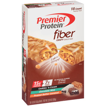 Premier Protein® Fiber Variety Pack Fiber Bars 18-1.83 oz. Box