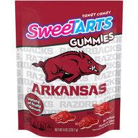 SWEETARTS Gummies University of Arkansas Recloseable 8 oz Bag, 8 ct