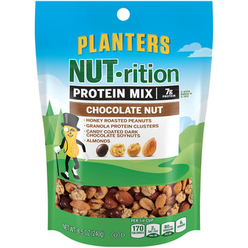 Planters NUT-rition Chocolate Nut Protein Mix 8.5 oz. Pouch