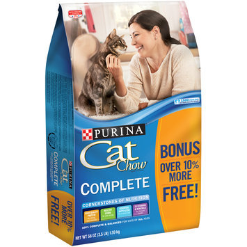 Purina Cat Chow Complete Cat Food 3.5 lb. Bonus Bag