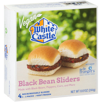 White Castle® Black Bean Sliders 2-2 ct Packs