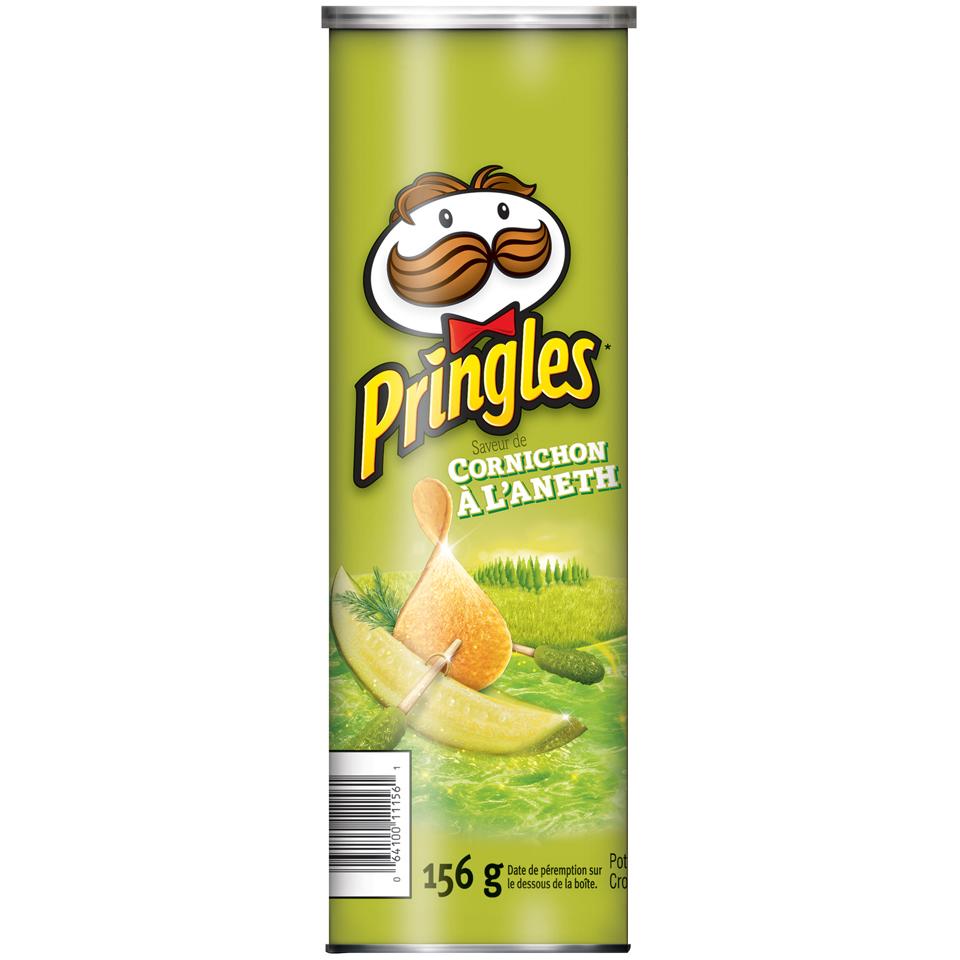 Pringles® Dill Pickle Flavour Potato Chips