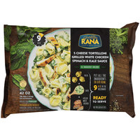 Rana® 5 Cheese Grilled White Chicken Spinach & Kale Sauce Tortelloni 42 oz. Pack