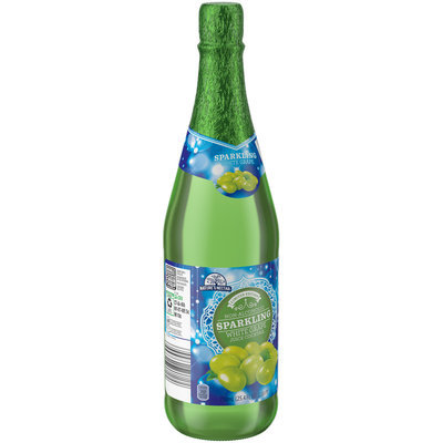 Nature's Nectar® Non-Alcoholic Sparkling Red Grape Juice Cocktail 25.4 fl. oz. Bottle