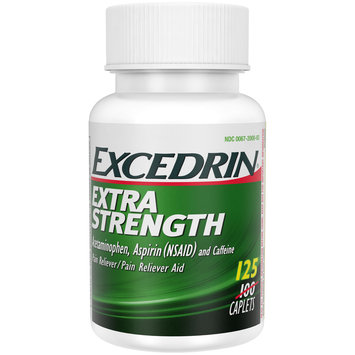 Excedrin® Extra Strength Caplets 125 ct Box