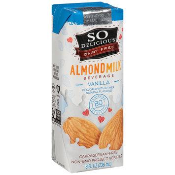 So Delicious® Dairy Fee Vanilla Almondmilk Beverage 8 fl. oz. Aseptic Pack