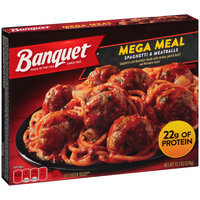Banquet® Mega Meal Spaghetti & Meatballs 13.2 oz. Box
