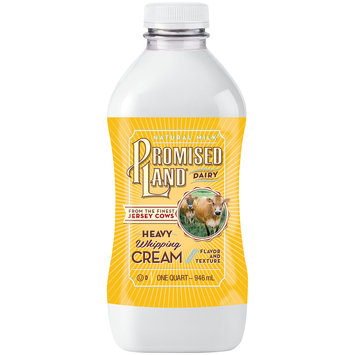 Promised Land® Dairy Heavy Whipping Cream 32 fl. oz. Bottle
