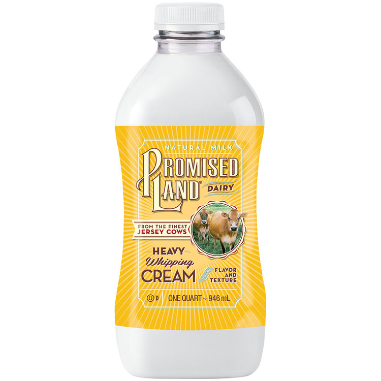 Promised Land® Dairy Heavy Whipping Cream