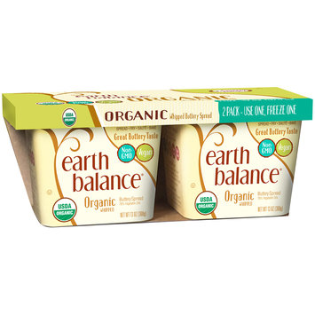 Earth Balance® Organic Whipped Buttery Spread 2-13 oz. Tubs