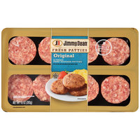Jimmy Dean: Original Fresh Pork Patties Sausage, 10 Oz