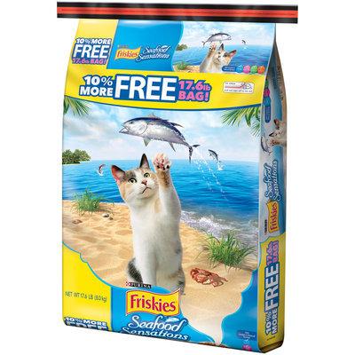 Purina Friskies Seafood Sensations Cat Food 17.6 lb. Bonus Bag