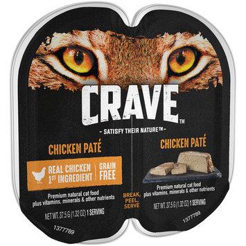 Crave™ Chicken Pate Premium Cat Food 12-1.32 oz. Packs